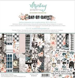 Bilde av Mintay - DAY - 12x12 Paper Set - Day by Day