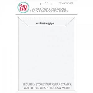 Bilde av Avery Elle - Die & Stamp Storage Pockets - Large - 50stk i pk