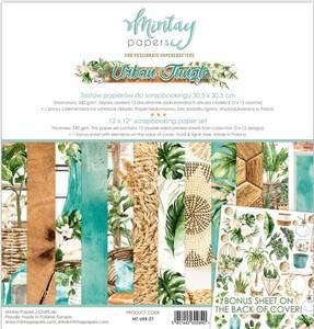 Bilde av Mintay - URB - 12x12 Paper Set - Urban Jungle