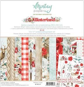 Bilde av Mintay - WTL - 12x12 Paper Set - Winterland