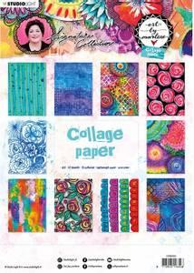 Bilde av Studiolight - Collage Paper A4 - Art By Marlene 5.0 - nr.06