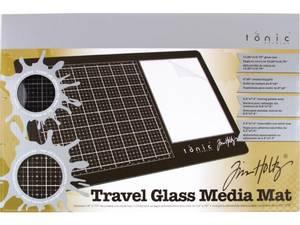 Bilde av Tim Holtz - 2633E - Travel Glass Mat - 10.25x15.5
