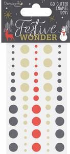 Bilde av Dovecraft - Glitter Enamel Dots - Festive Wonder