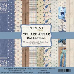 Bilde av Reprint - 8x8 - RPM010 - You are a Star Collection pack