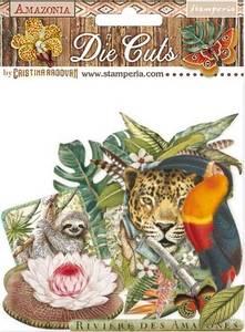 Bilde av Stamperia - Chipboard Die Cuts - 30 - Amazonia