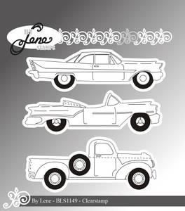 Bilde av By Lene - Stempel - BLS1149 - American Cars