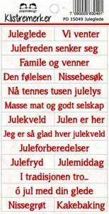 Bilde av Papirdesign - Klistremerker - 15049 - Juleglede