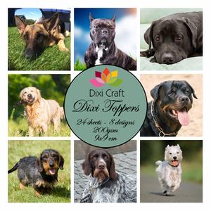 Bilde av Dixi Craft - Dixi toppers - ET0241 - Dogs