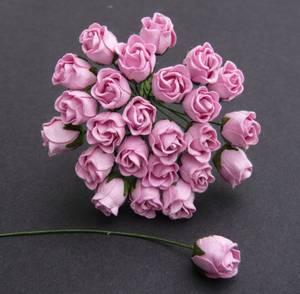 Bilde av Flowers - Hip Rosebuds - SAA-471 - Baby Pink - 50stk