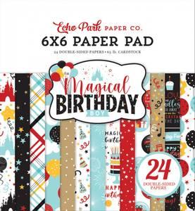 Bilde av Echo Park - Magical Birthday Boy - 6x6 Paper Pad