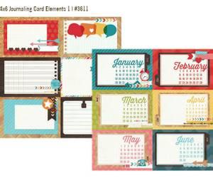 Bilde av Simple Stories - 3611 - Daily Grind - 4x6 Journaling card 1