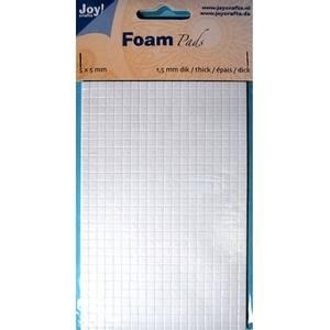Bilde av Joy Crafts - 6500-0002 Foam Pads - White - 5x5mm - h: 1,5mm