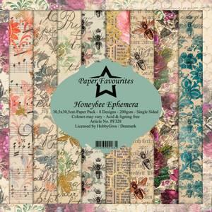 Bilde av Paper Favourites - 12x12 Paper Pack - PF328 - Honeybee Ephemera