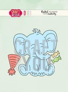 Bilde av Craft & You - Dies - CW085 - Elephant