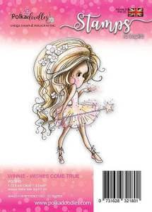 Bilde av Polkadoodles - Clear Stamp - PD7810-  Wishes Come True