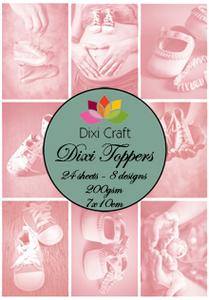 Bilde av Dixi Craft - Dixi toppers - ET0115 - Baby Shoes Pink