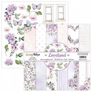 Bilde av ScrapBoys - New Edition Lovland - 8x8 - Paper pad