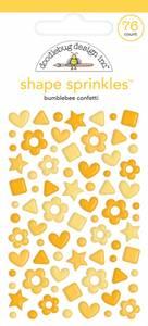 Bilde av Doodlebug - 6706 - Shape Sprinkles - Bumblebee