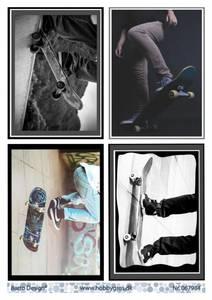 Bilde av Barto Design - Klippeark A4 - 067984 - Skating