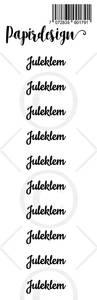 Bilde av Papirdesign - Transparent Stickers - 1900179 - Juleklem