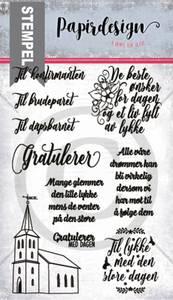 Bilde av Papirdesign - Stempel - PD1900283 - Kirketradisjoner