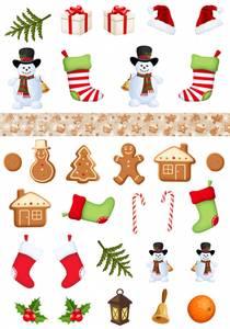Bilde av Reprint -  A4 Klippeark - KP0083 - Snowman & Friends - Cutouts
