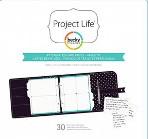Bilde av Project Life - 6x8 Pages - 380490 - Planner Perforated Grid Card