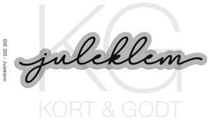 Bilde av Kort & Godt - Die 300 - Juleklem