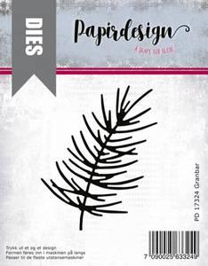 Bilde av Papirdesign Dies PD17324 - Granbar